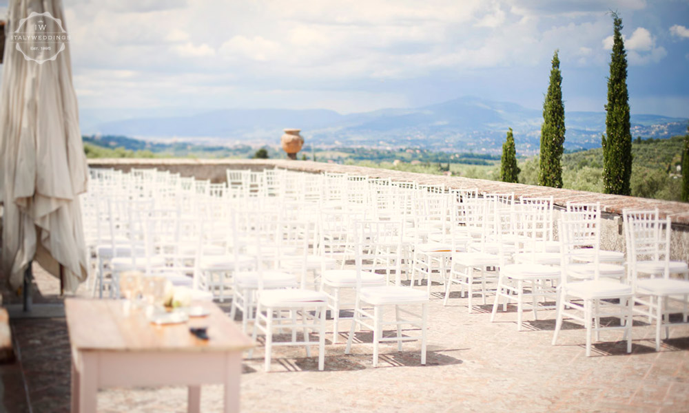 Wedding villa Florence