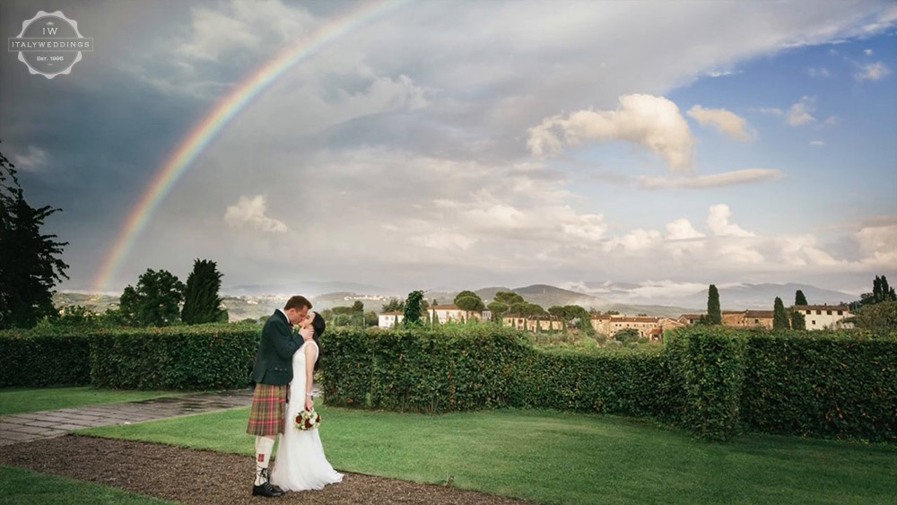 Florence villa wedding venue