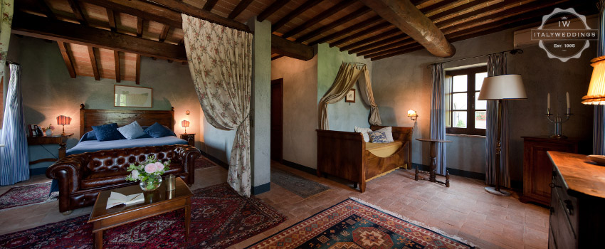 umbria villa room