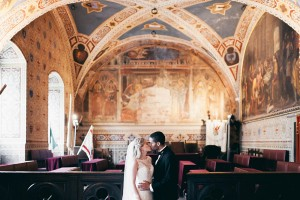 Volterra town hall wedding