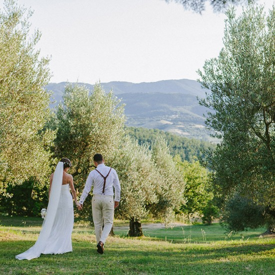 Umbria wedding olive grove