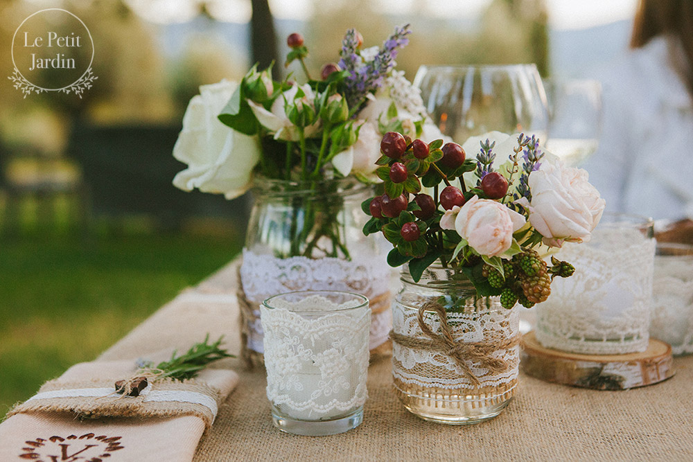 Umbria wedding table