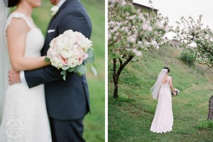 Villa wedding Umbria countryside blessing