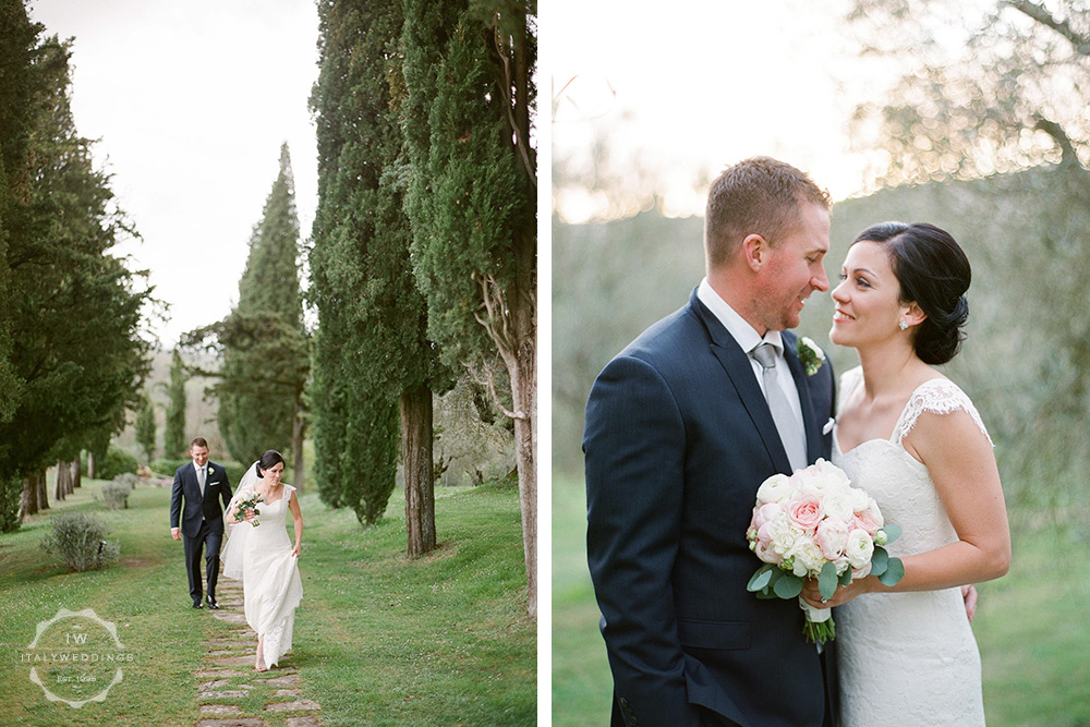 Villa wedding Umbria countryside