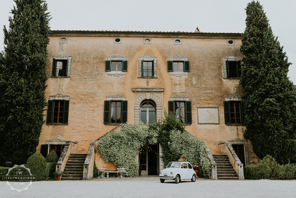 Villa wedding Tuscany