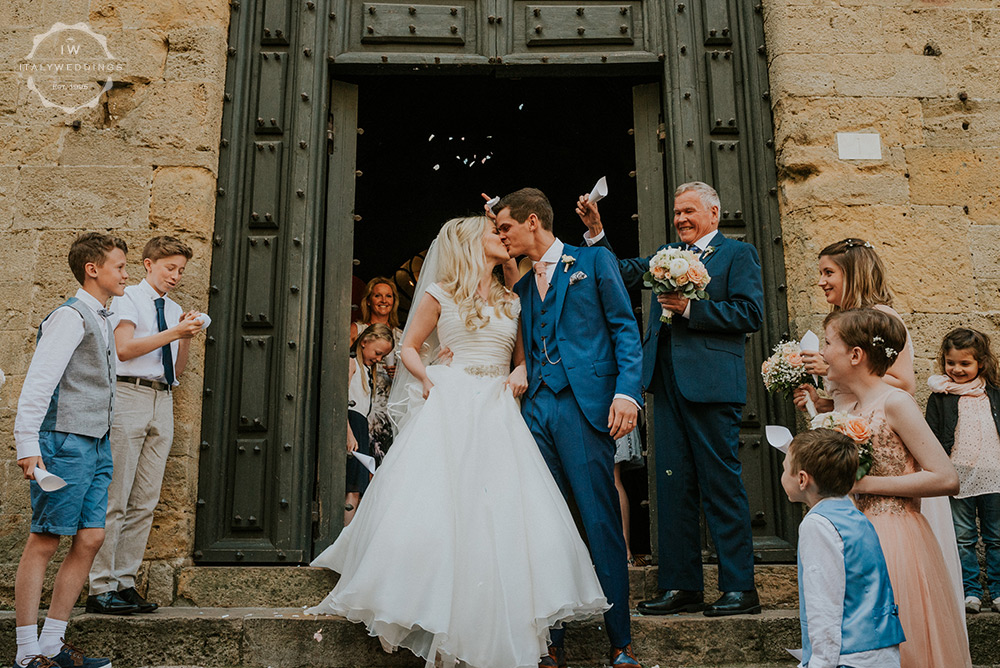 Villa wedding Tuscany Volterra town hall