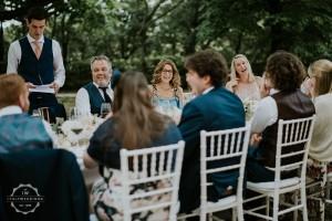 Villa wedding Tuscany long table