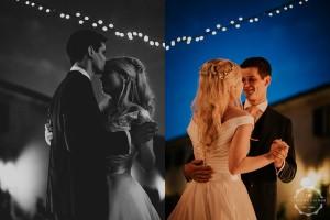 Villa wedding Tuscany first dance