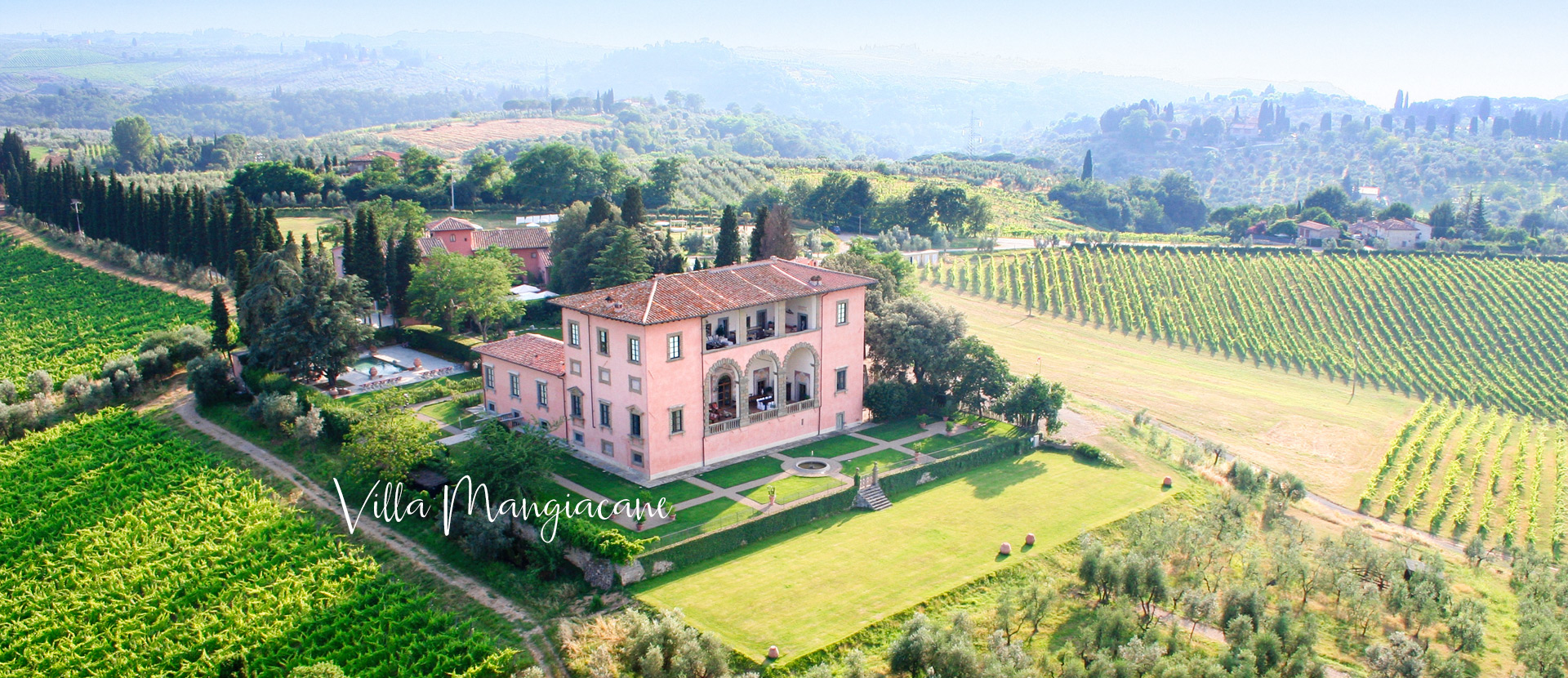 Villa Mangiacane Florence Tuscany