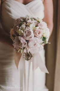 Tuscan wedding bridal bouquet