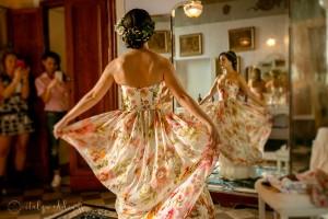 Stomennano Siena wedding preparations