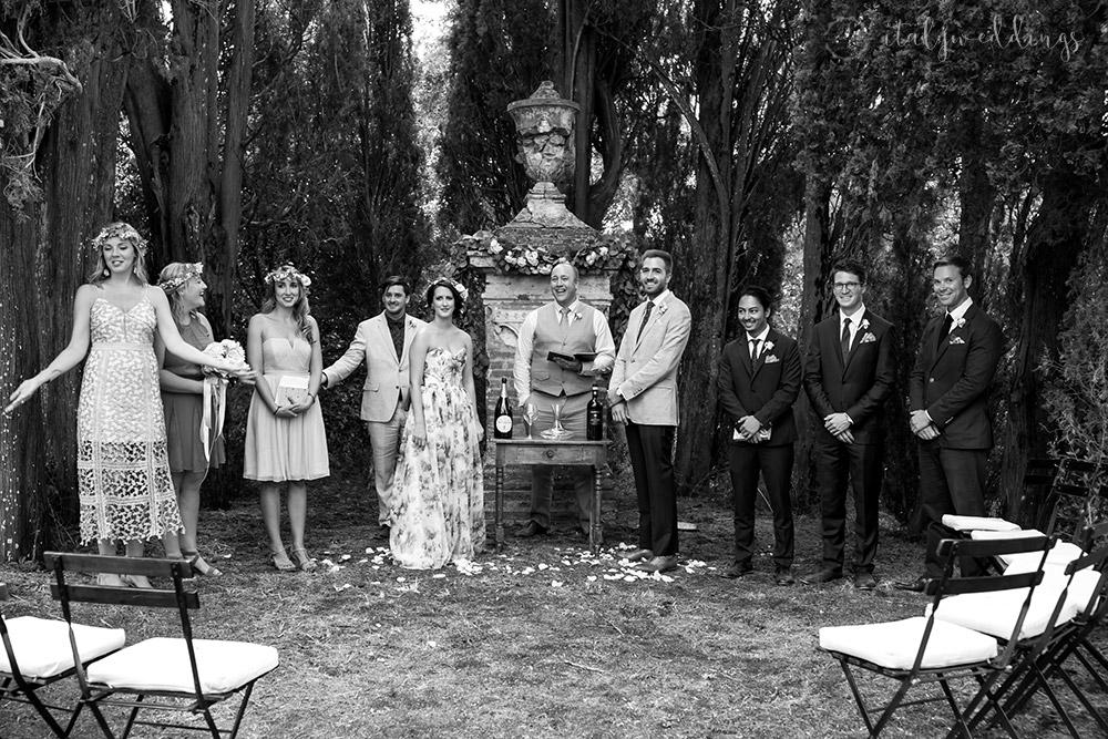 Stomennano wedding wine ceremony