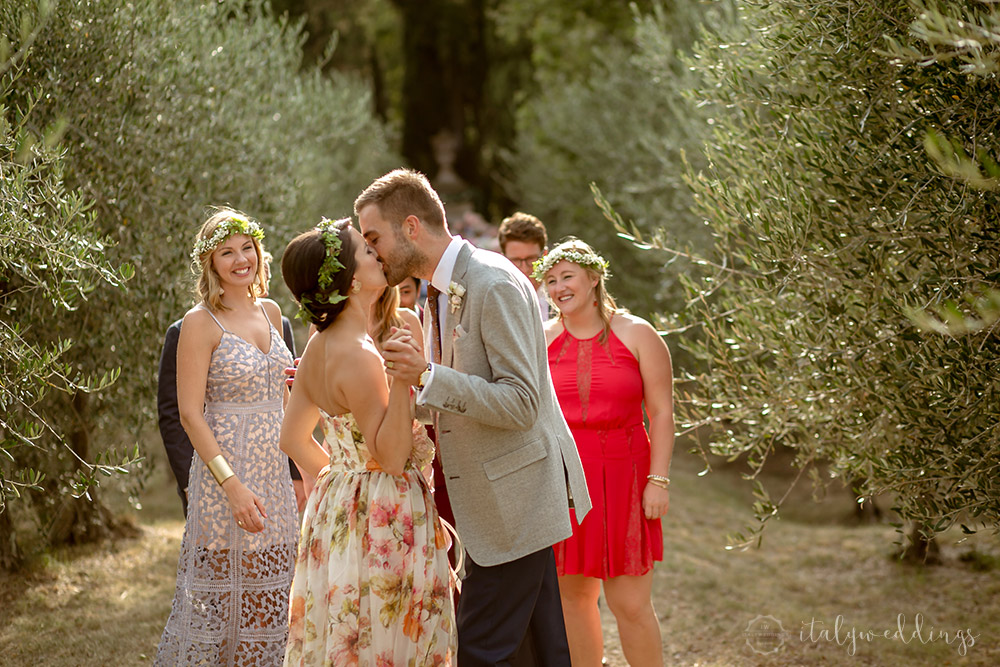 Siena Stomennano wedding olives