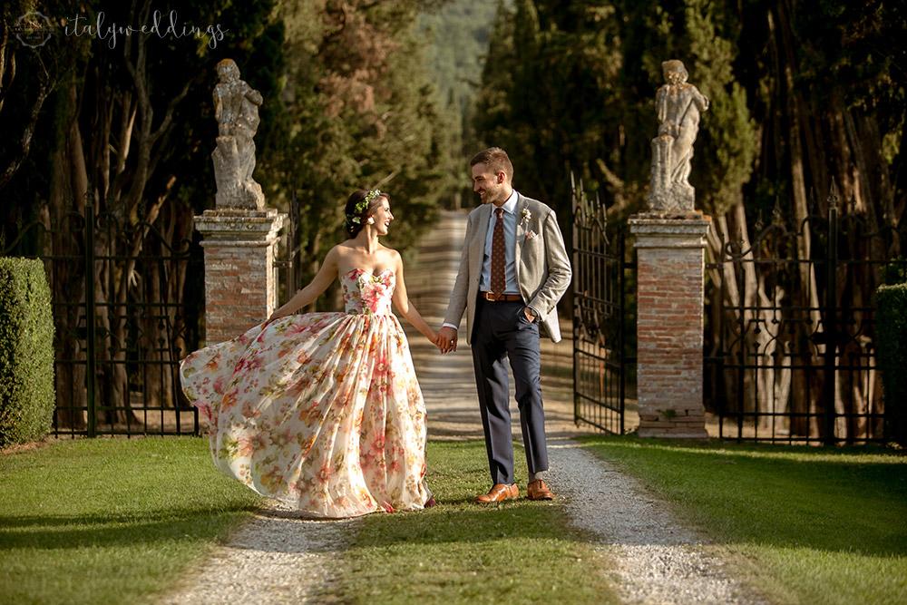 Siena Stomennano wedding villa