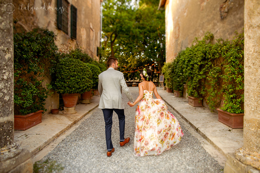 Siena Stomennano wedding villa