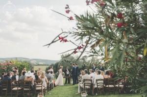 Country civil wedding Siena