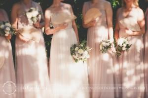 Country civil wedding Siena bridesmaids
