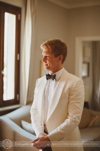 Florence wedding groom white suit tom ford