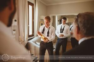 Florence wedding getting ready