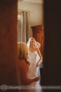 Florence wedding bride preparation