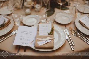 Vincigliata table setup