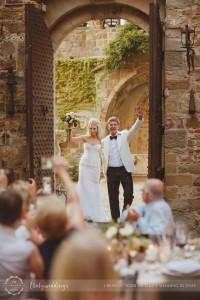 Castello di Vincigliata bridal entrance