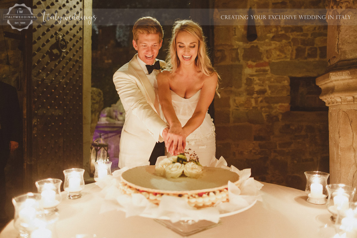 Castello di Vincigliata millefoglie cake