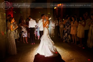 Fiesole Maiano wedding first dance