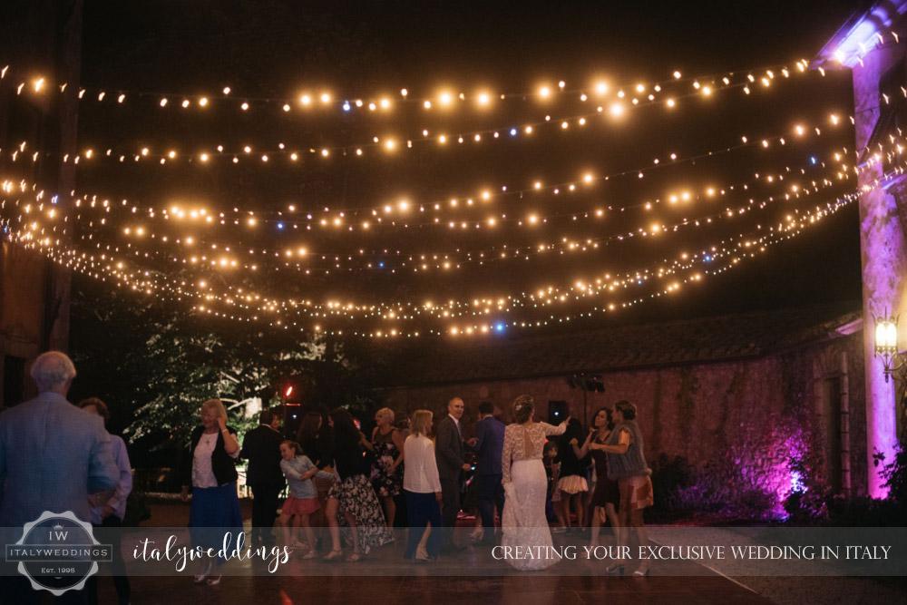 Villa Ulignano wedding blessing in Tuscany