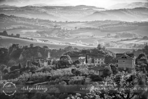 Blessing in the Tuscan hills by Italyweddings