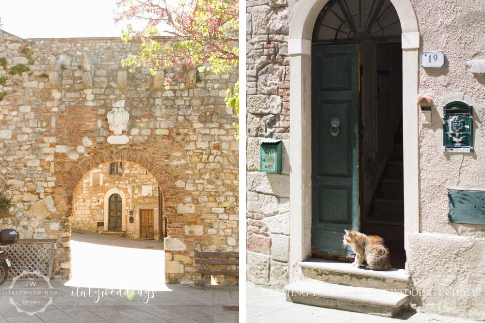 Tuscan coastal wedding, civil wedding