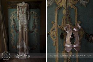 Italy wedding the dress