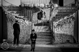 Italy wedding wedding party