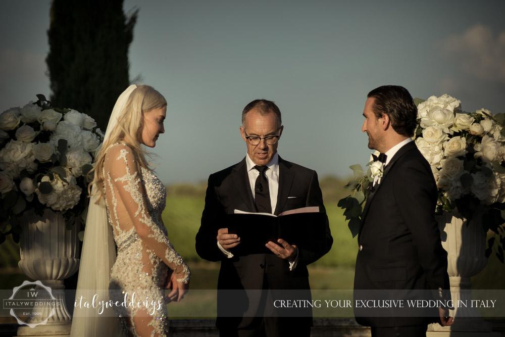 Italy wedding blessing