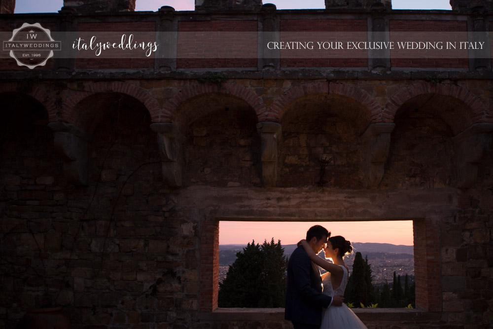 Vincigliata wedding views