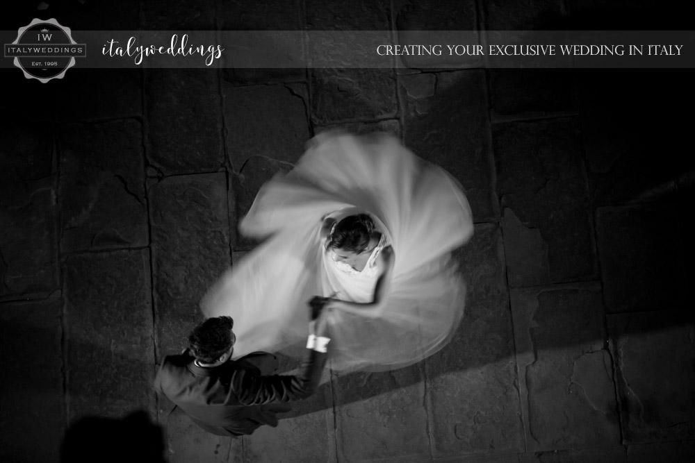 Vincigliata wedding first dance