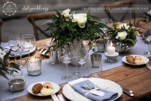 Vincigliata wedding country chic table