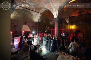 Castello di Vincigliata wedding open bar