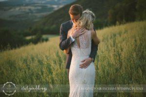 Ulignano wedding blessing panorama views