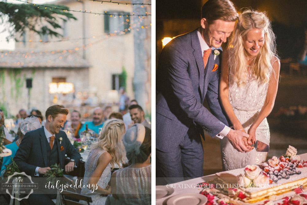 Ulignano wedding blessing cake