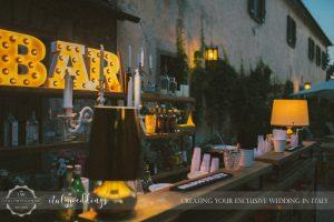 Ulignano wedding blessing open bar