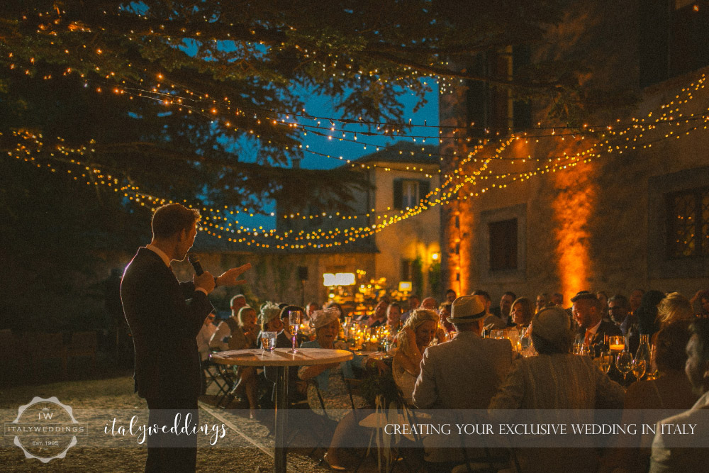 Ulignano wedding blessing grooms speech