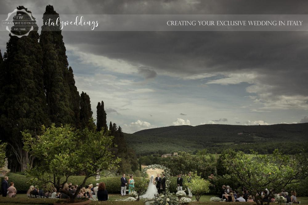 Blessing in Stomennano Tuscany