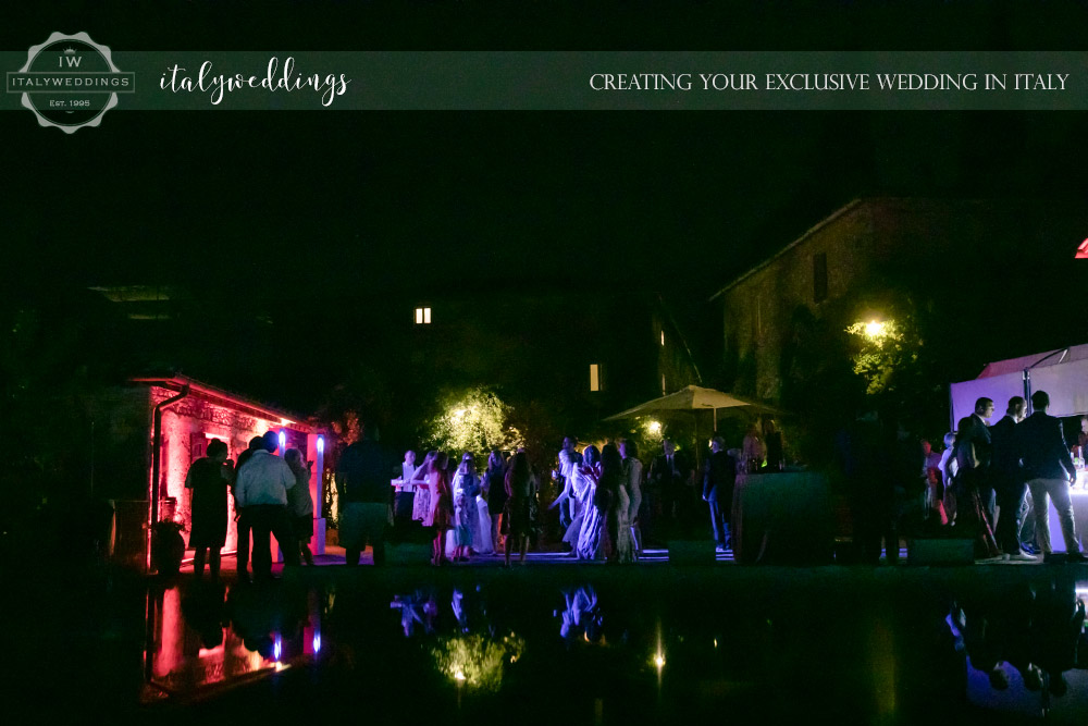 Blessing in Stomennano Tuscany pool party