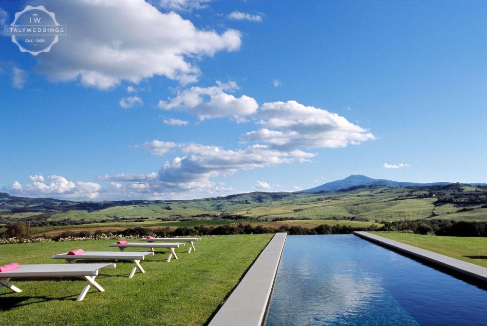 creative refined villa Pienza