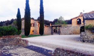 Rural wedding villa Siena