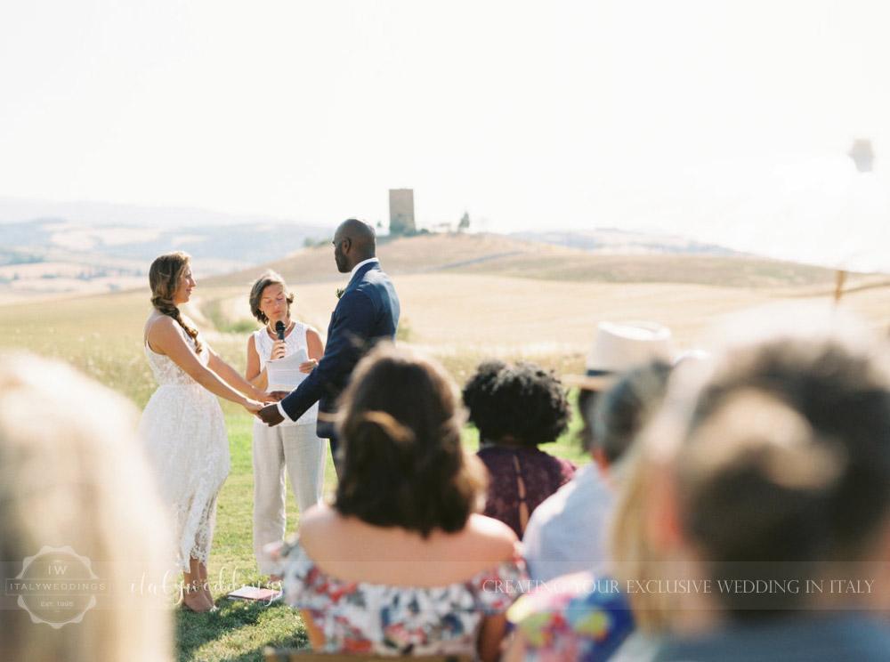 Stylish wedding Pienza Val D'Orcia