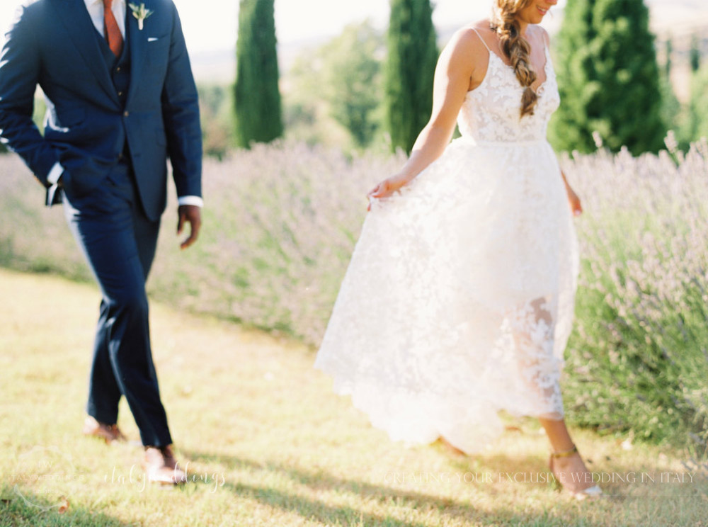 Stylish wedding Pienza Val D'Orcia
