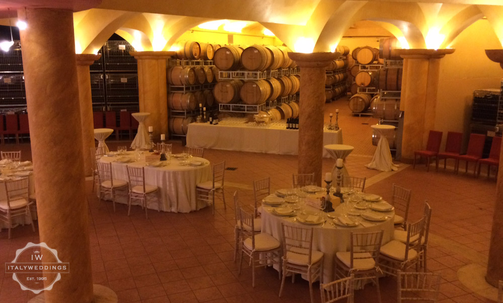 Siena Chianti Winery wedding venue