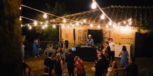 DJ set wedding Italy Villa Stomennano